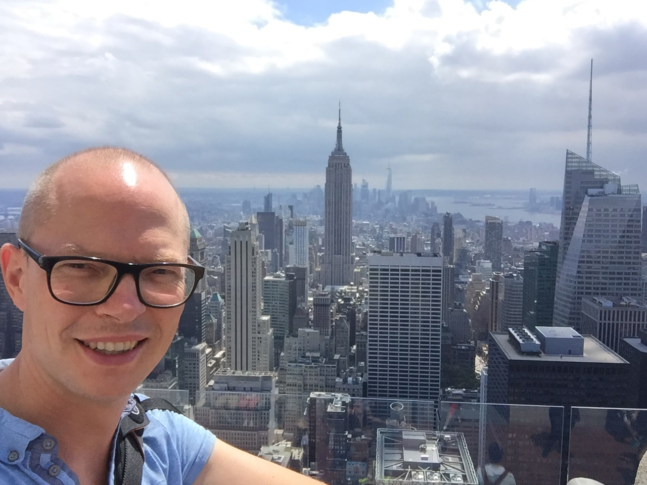 Carsten Priebs in New York 2016 - Silicon Valley Tour